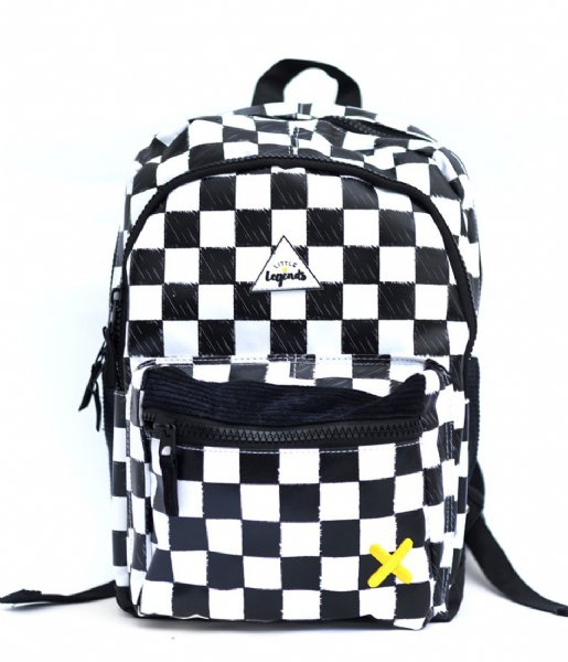 Little Legends  Backpack Large Checkerboard checkerboards (01)