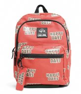Little Legends CarlijnQ Happy Days Backpack Roestbruin/Rood