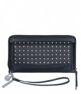 LouLou Essentiels Portemonee Groot Stud Black (1)