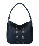 LouLou Essentiels Schoudertas Stud Black (1)