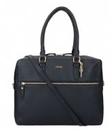 LouLou Essentiels Bag Girl Boss Gold 13 Inch Black (001)