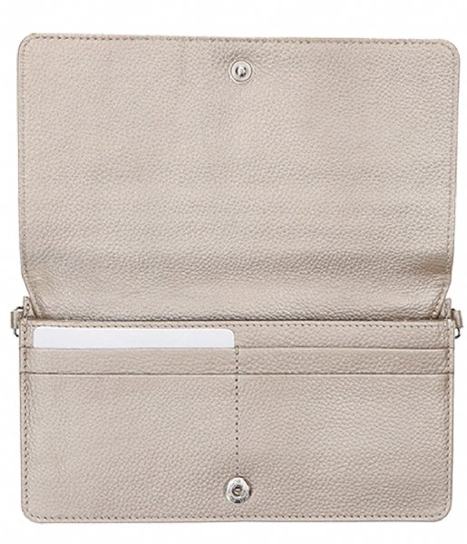 LouLou Essentiels  Pouch Pearl Shine sand (014)