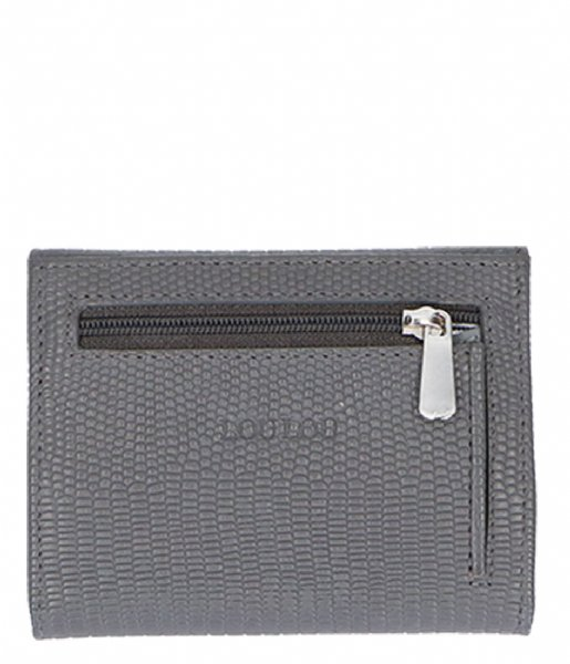 LouLou Essentiels  Creditcard Etui Lovely Lizard S dark grey (002)