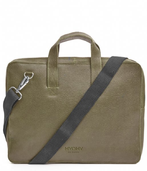 MYOMY  My Paper Bag Laptop 13 Inch rambler dark olive (10180653)