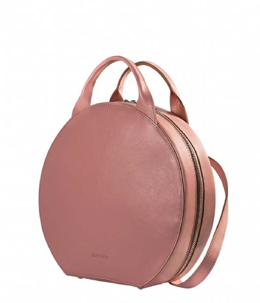 MYOMY  My Boxy Bag Cookie Backbag hunter waxy pink (1320-60)