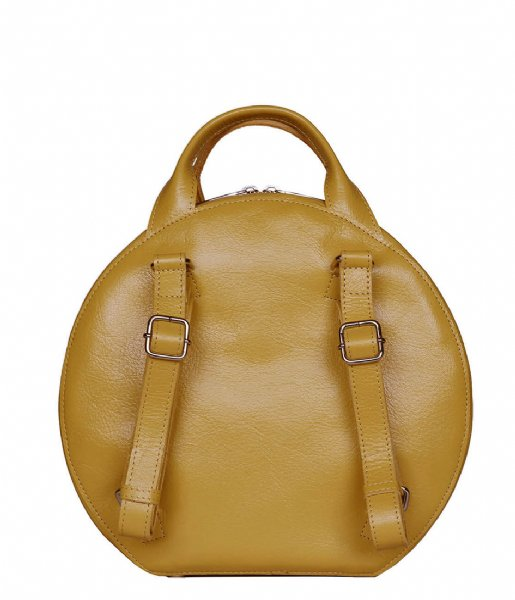 MYOMY  My Boxy Bag Cookie Backbag seville ocher (1320-55)