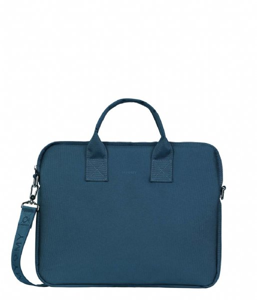 MYOMY  My Philip Laptop Bag Vegan 15 Inch blue (70123-85MN)
