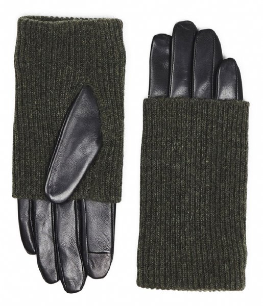 Markberg  Helly Glove black green