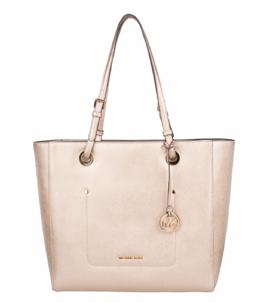 c206d7cee5f2 Walsh Large EW Tote pale gold & gold hardware Michael Kors | The ...