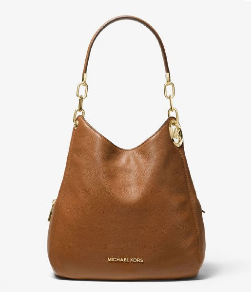 Michael Kors  Lillie Large Chain Shoulder Tote luggage & gold colored hardware