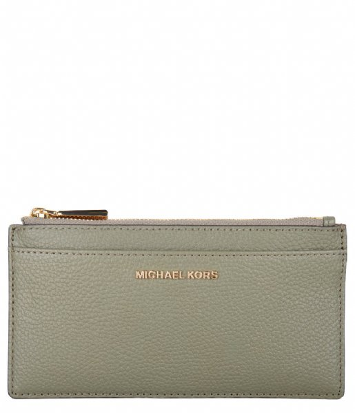 Michael Kors  Jet Set Lg Slim Card Case army green