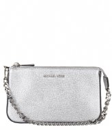 Michael Kors Medium Chain Pochette silver colored & silver colored hardware