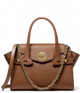 Michael Kors Carmen Small Flap Satchel Luggage (230)
