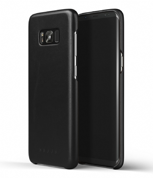 Mujjo  Leather Case Galaxy S8+ black