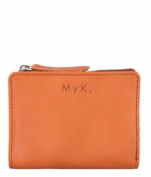 MyK Bags  Purse Poppy Caramel