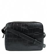 O My Bag Sue Croco Zwart Croco Classic Leather