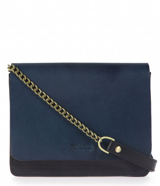 O My Bag  Audrey Mini Chain navy classic