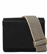 O My Bag The Audrey Mini Black classic checkered strap