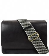 O My Bag The Audrey Black classic checkered strap