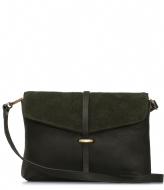 O My Bag Ella Midi forest green soft grain