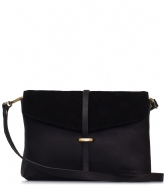 O My Bag Ella Midi black soft grain