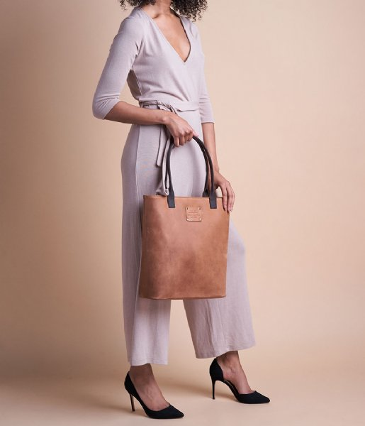 O My Bag  Posh Stacey Midi eco camel