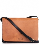 O My Bag The Audrey black cognac classic