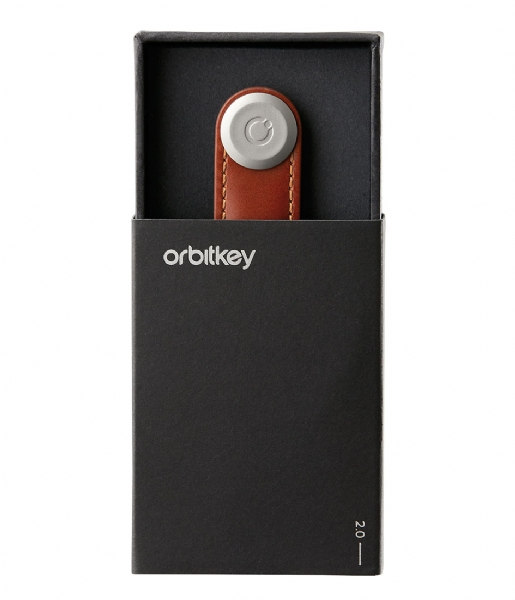 Orbitkey  Leather Orbitkey 2.0 black tan