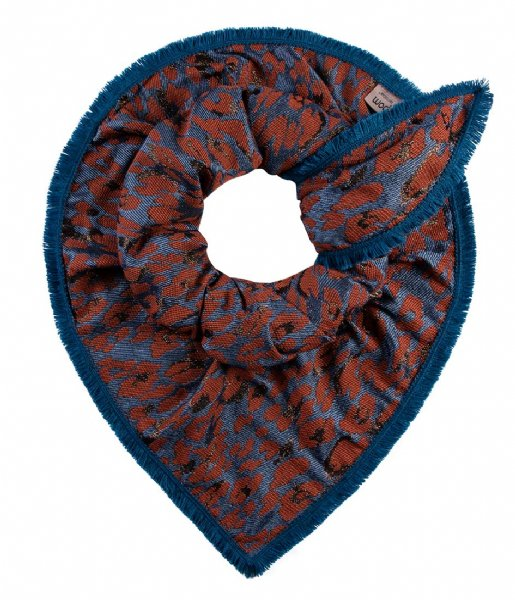 POM Amsterdam  Leopard Festival Rusty Red rood