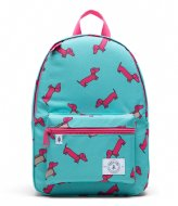 Parkland Edison Backpack hot pink hot dog