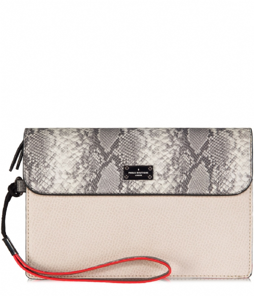 Pauls Boutique-Clutch Cottenham veronica snake/beige