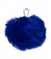Pauls Boutique Large Fur Pom Trinkets Gold electric blue