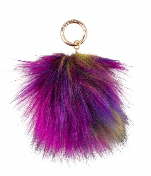 Pauls Boutique  Multi Fur Pom Trinkets Gold bright