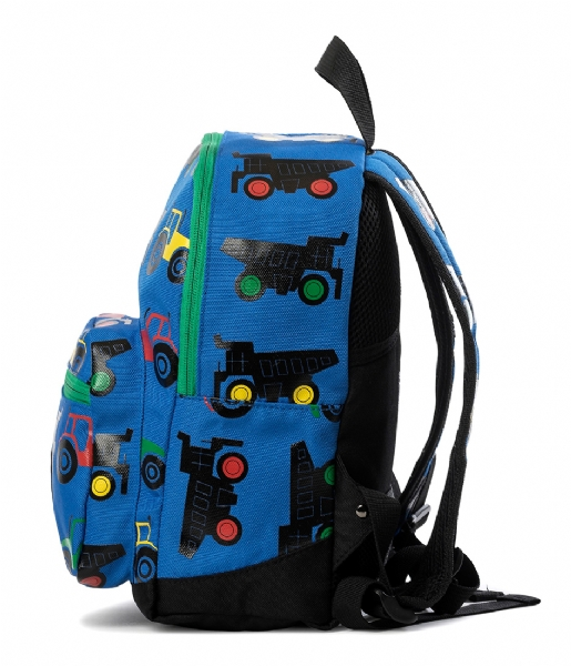 Pick & Pack  Backpack Tractor blue (03)