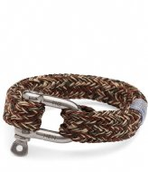 Pig and Hen Fat Fred Bracelet 18 cm army brown sand