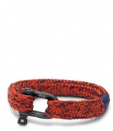 Pig and Hen Gorgeous George coral red navy black (242633)
