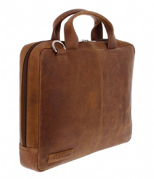Plevier  Laptopbag 480 14 Inch & 13 Inch Macbook cognac
