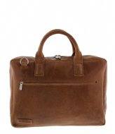 Plevier Laptop Bag 485 17.3 inch cognac