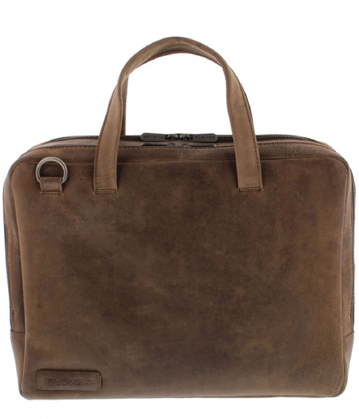 Plevier  Midlothian Document Laptop Bag 707 14 Inch taupe