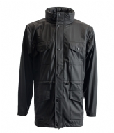 Rains Four Pocket Jacket black (01)