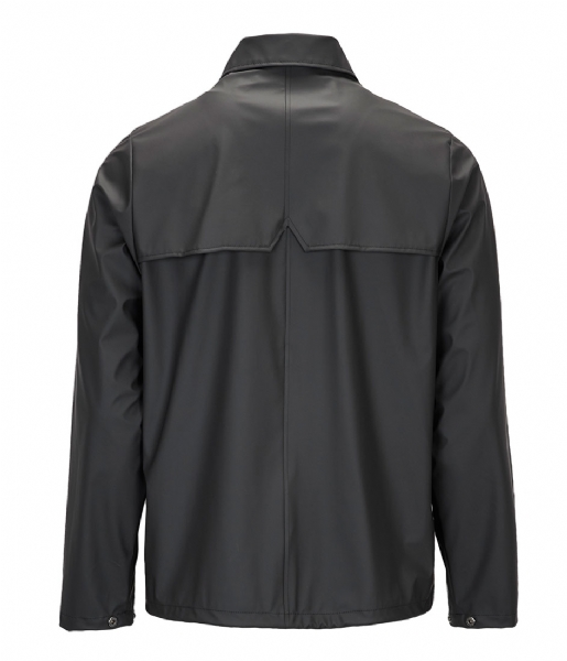 Rains  Coach Jacket black (01)