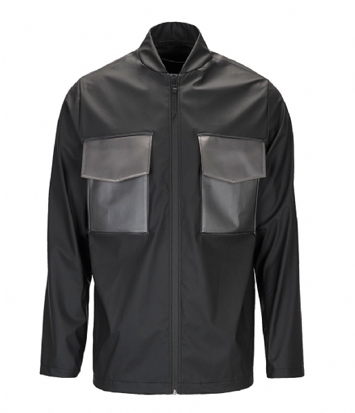 Rains  Warrant Jacket black (01)