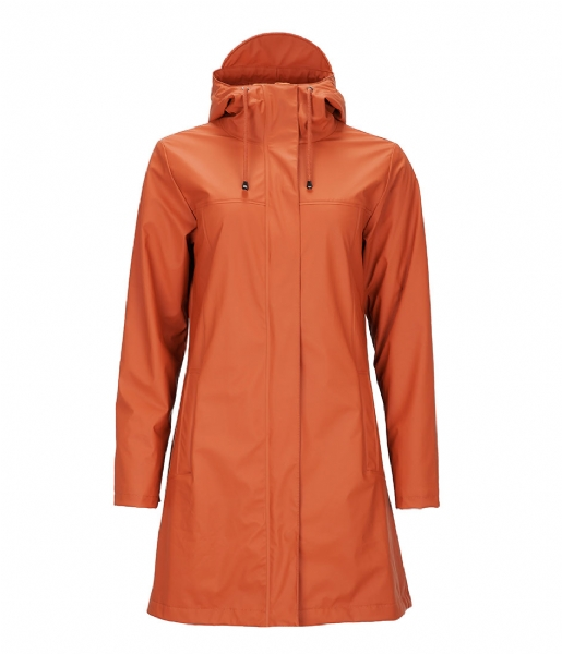 Rains  Firn Jacket rust (51)