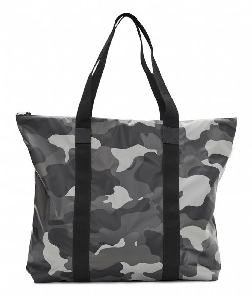 Rains Handbag AOP Tote Bag night camo (82)