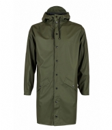 Rains Long Jacket green (03)