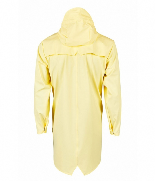 Rains  Long Jacket wax yellow (17)