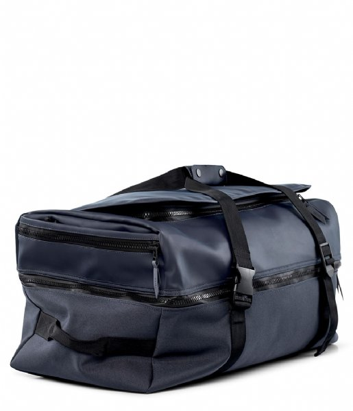 Rains Travel bag Travel Backpack Large blue (02)