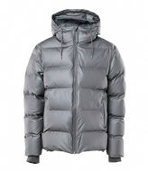Rains Puffer Jacket metallic charcoal (15)