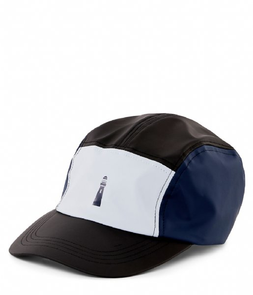 051be531 Color Block Dad Cap ice grey blue Rains | The Little Green Bag
