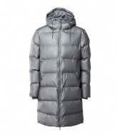 Rains Long Puffer Jacket metallic charcoal (15)